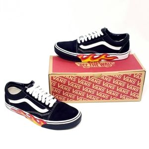 Vans Flame Cut Out Old Skool
